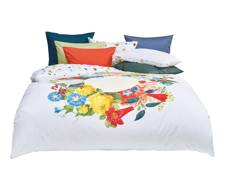 fischbacher bettw sche bouquet satin marc leopold. Black Bedroom Furniture Sets. Home Design Ideas
