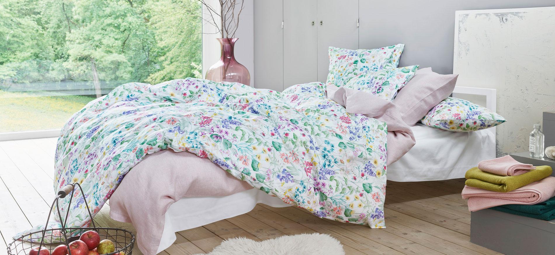 Schlossberg Bettwäsche aus der Schweiz maßgefertigt bestellen