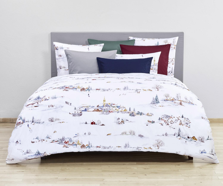 fischbacher wintermorgen satin bettw sche marc leopold. Black Bedroom Furniture Sets. Home Design Ideas