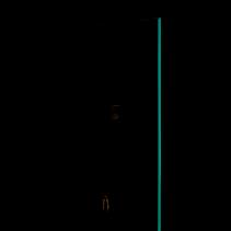 Decor Walther Einhängekorb in schwarz matt