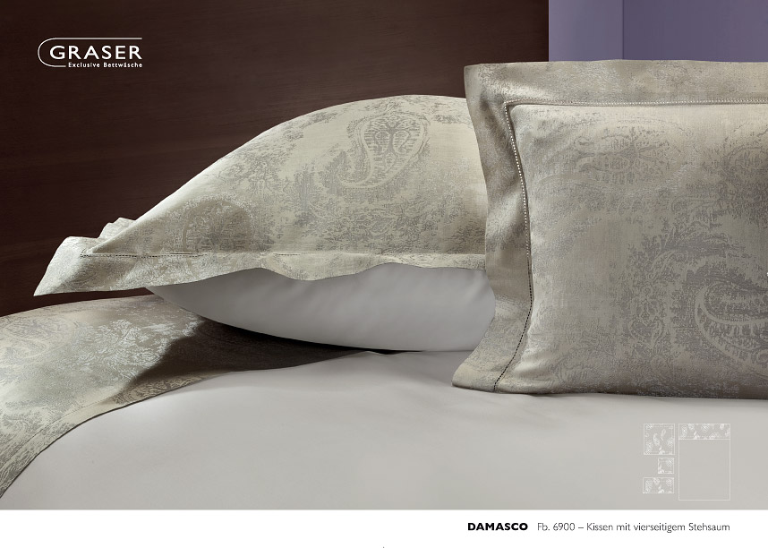 graser bettw sche damasco satin marc leopold. Black Bedroom Furniture Sets. Home Design Ideas