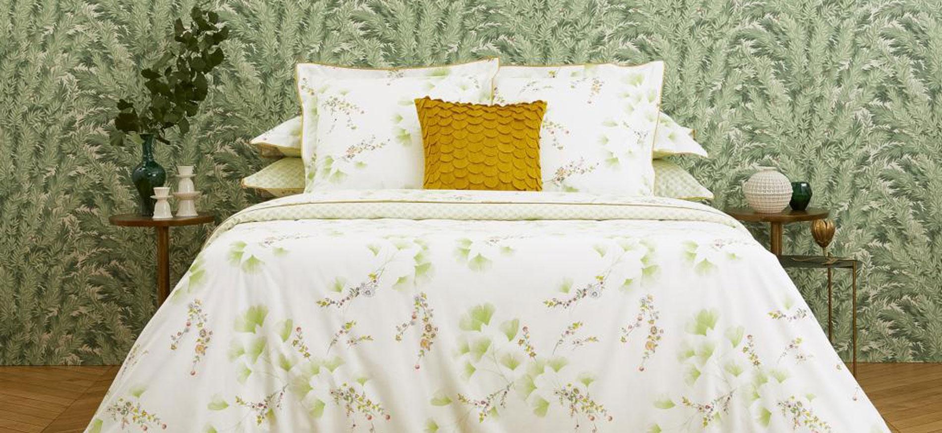 Mit Yves Delorme Bettwäsche wunderbar einschlafen